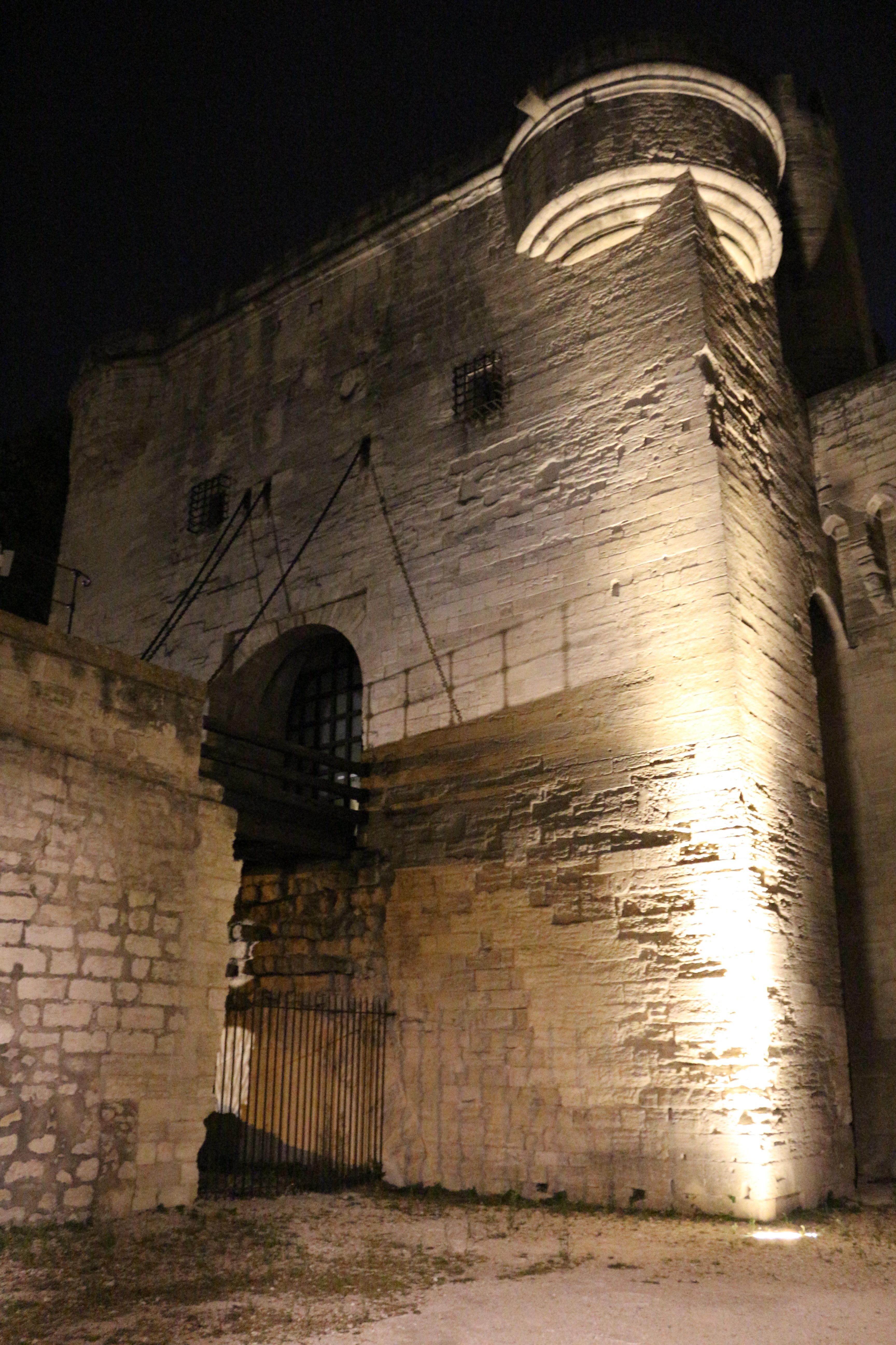 Le pont levis du pont d'Avignon