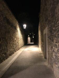 Les rues d'Avignon