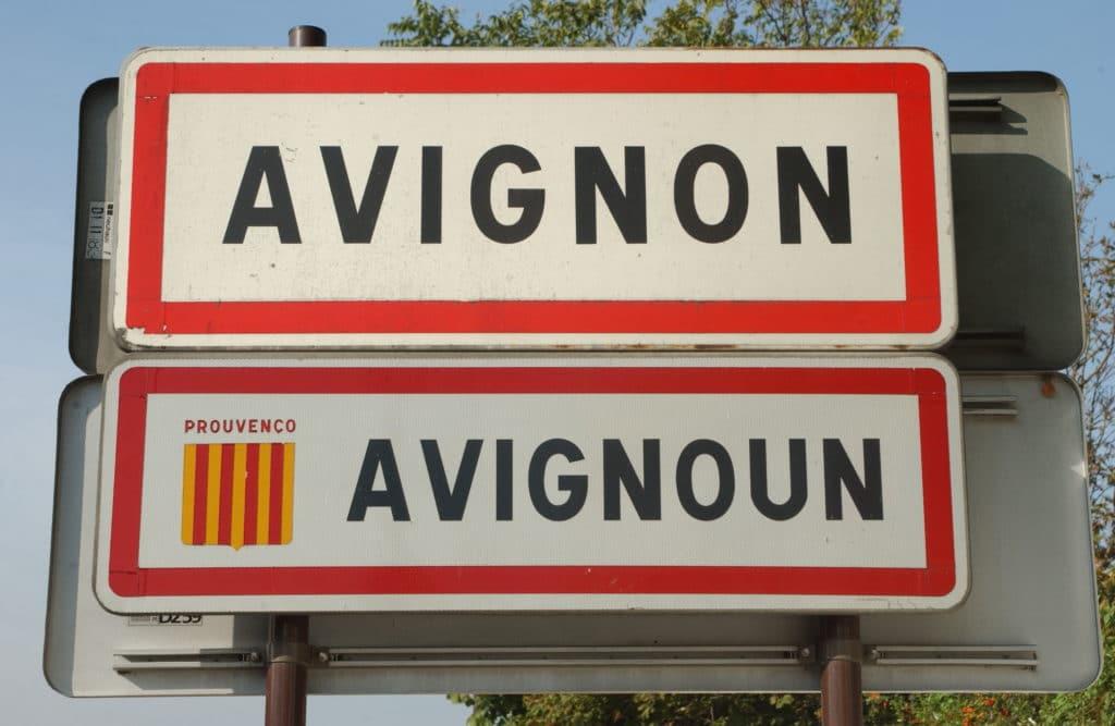 Comment venir à Avignon