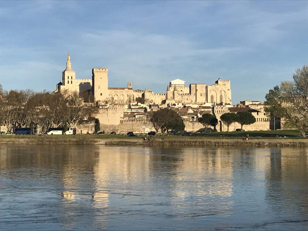 Vue de Avignon