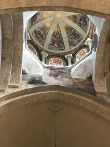 Dôme avec fresques