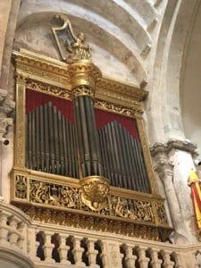 L'orgue doré