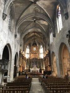 Nef principale, églises, avignon