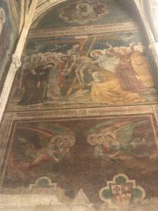 Fresque du portement de la croix
