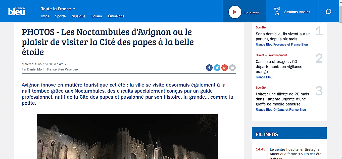 Article de France Bleu