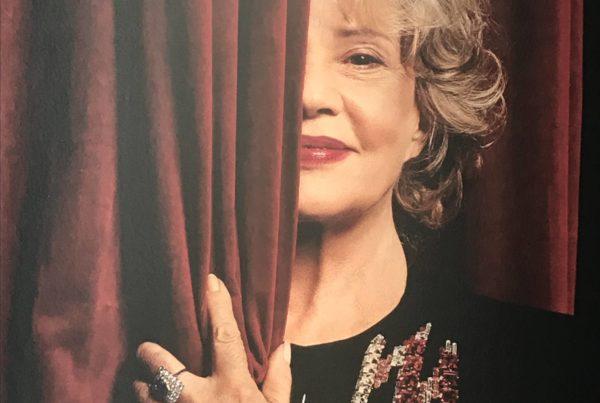 Entrée de l'exposition Jeanne Moreau à la Maison Jean Vilar