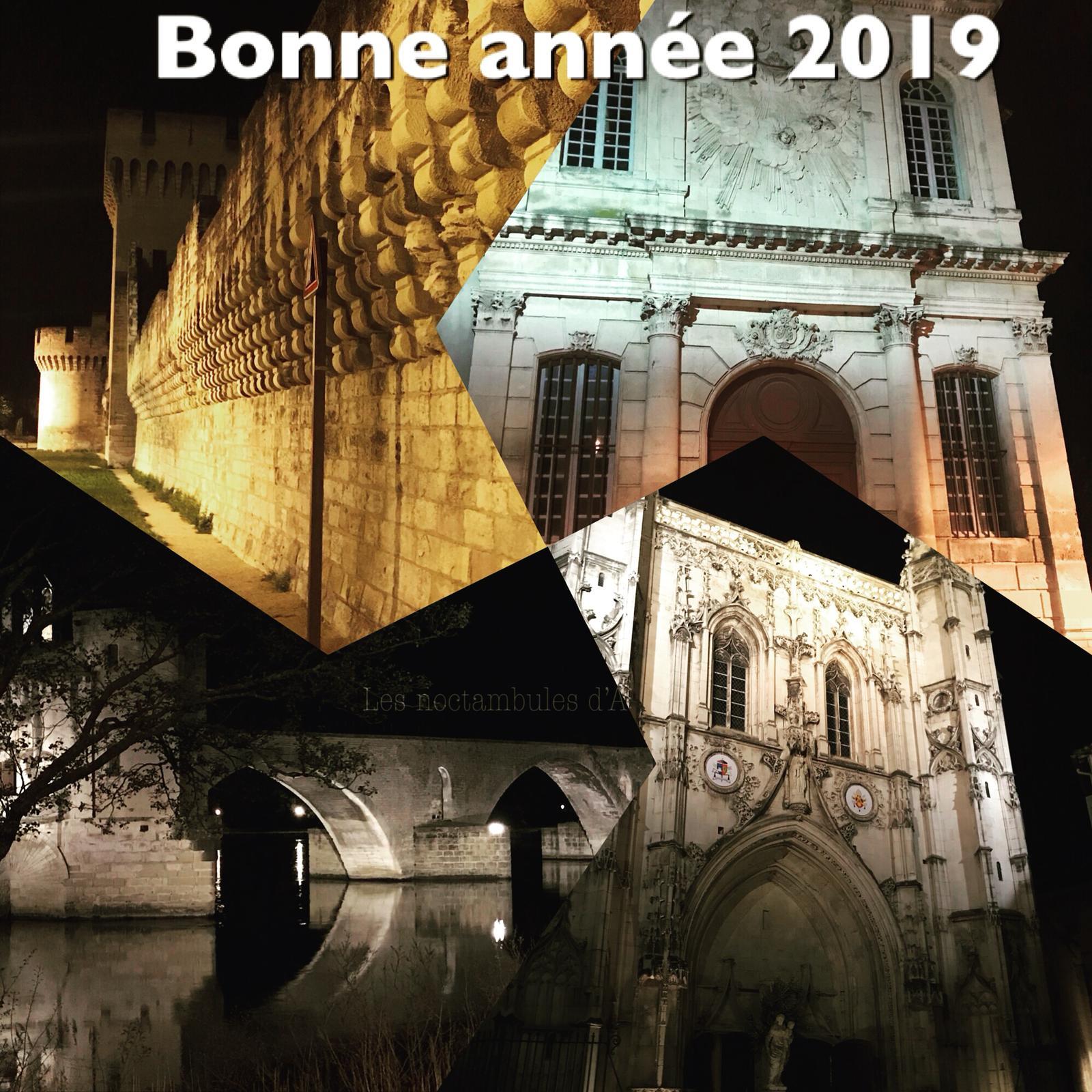 Nouveautés 2019: les noctambules d'Avignon vous souhaitent une bonne année
