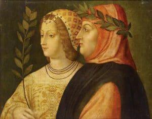 Pétrarque et Laure