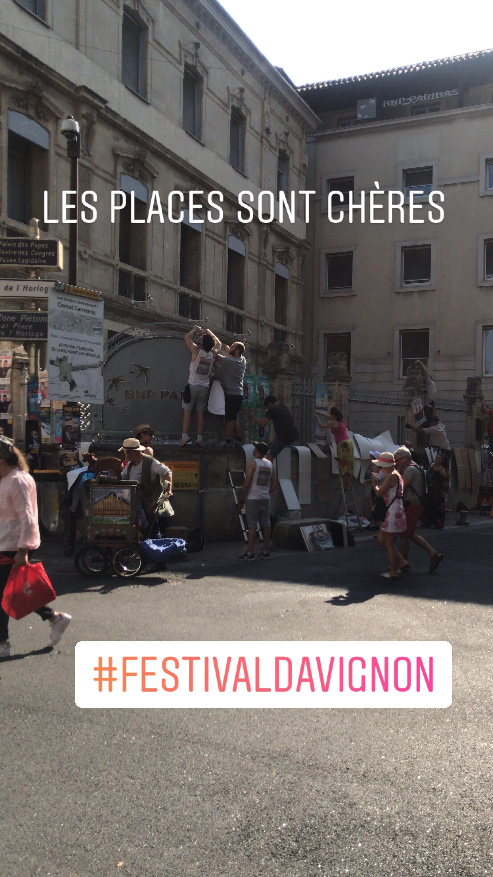 Le festival d'Avignon 2019