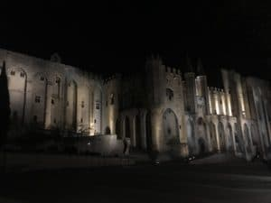 Popes palace, to visit in Avignon