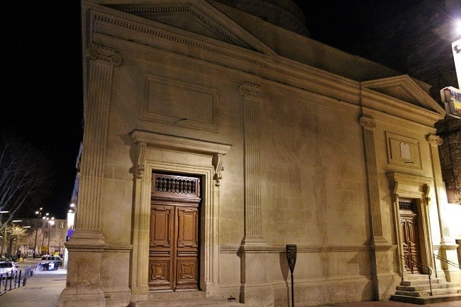 visite originale d'Avignon, synagogue
