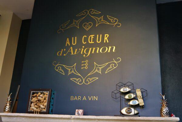 bar à vins d'Avignon, au cœur d'Avignon