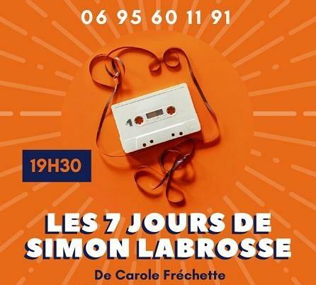 7 jours de Simon Labrosse, festival off 2021